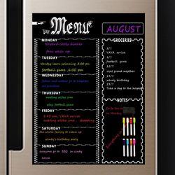 냉장고 자석 주간 스케줄표 화이트보드 ACC-5808 위크
