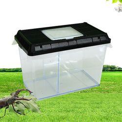 아이리스 곤충채집통 사육케이스 곤충상자 블랙 CHI-L