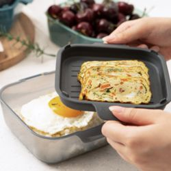 채널앤쿡 5개세트 전자렌지 용기 그릇set 다용도접시