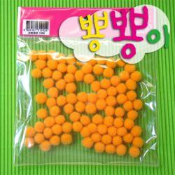 단색뿅뿅이 10파이 약70개입/솜방울/칼라솜/장식솜