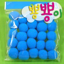 단색뿅뿅이 25파이 약20개입/솜방울/칼라솜/장식솜