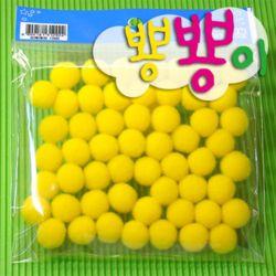 단색뿅뿅이 15파이 약55개입/솜방울/칼라솜/장식솜