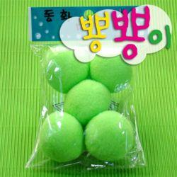 단색뿅뿅이 50파이 약5개입/솜방울/칼라솜/장식솜