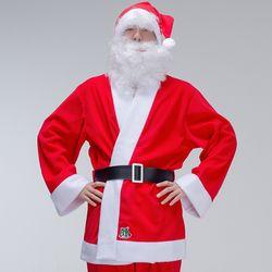 크리스마스 산타복 남자상의 3종