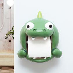 공룡 캐릭터 욕실 화장실 휴지걸이 두루마리걸이