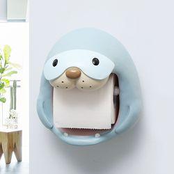 물범 캐릭터 욕실 화장실 휴지걸이 두루마리걸이