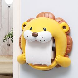 사자 캐릭터 욕실 화장실 휴지걸이 두루마리걸이