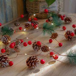 반짝반짝 전구 크리스마스 트리장식
