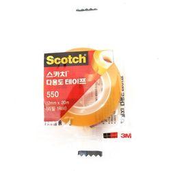 3M 스카치 테이프 리필 550 12x20mm