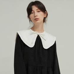 SQUARE FRILL COLLAR (WHITE)