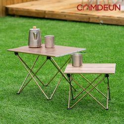[캠든] 캠핑용품 테이블 피크닉 야외 감성 하드 (중)