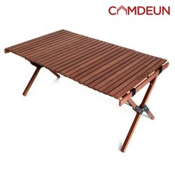 캠든 제작 캠핑 테이블 피크닉 야외 야외 우드 (중)