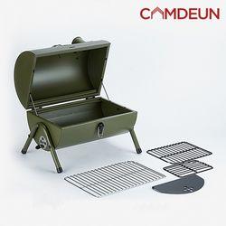 [캠든] 그릴 캠핑화로 바베큐 접이식 야외 스탬프