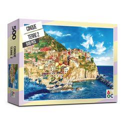 (알록퍼즐) 500피스 친퀘테레2 직소퍼즐 AL5003