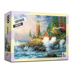 (알록퍼즐) 500피스 등대 직소퍼즐 AL5002