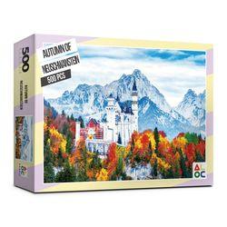 (알록퍼즐) 500피스 슈반스타인성의가을 직소퍼즐 AL5001
