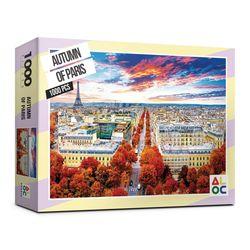 (알록퍼즐) 1000피스 파리의 가을 직소퍼즐 AL3001