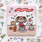다꾸 캐릭터 스티커팩 - 베리베리 (100장)