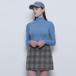 W25 fleece pola tee blue