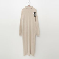 Maille Raccoon Fox N Wool Turtleneck Long Dress