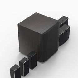 옥터디오 HI-FI 고음질 5.1채널 메가시어터 홈시어터 사운드바