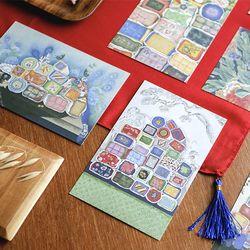 [istyle]Korean Minhwa Postcard Set-by.문선영
