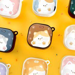 고양이 냥이 젤리 에폭시 하드 갤럭시 버즈 라이브 케이스