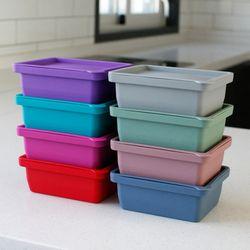 (국산) 실리콘 냉장 냉동 보관용기(1구) - 8color