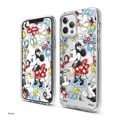 엘라고 디즈니 아이폰12 미니 프로 맥스 케이스-그라피티 미니