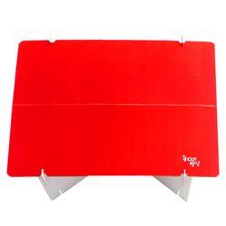 돗자리밥상 피크닉 캠핑 사이드 종이 테이블 D400