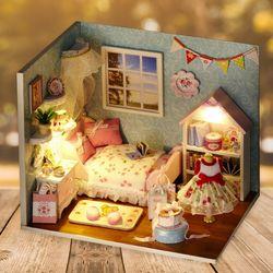 DIY 미니어처 만들기 세트 - 행복의집 (침실-창문)