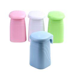 흡착식 자석 거꾸로 양치컵 칫솔컵 욕실컵