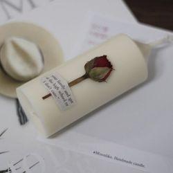 6월 탄생화향초 캔들 장미향초 기념일선물 생일선물