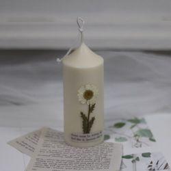 9월 탄생화캔들 향초 마가렛향초 기념일선물 생일선물