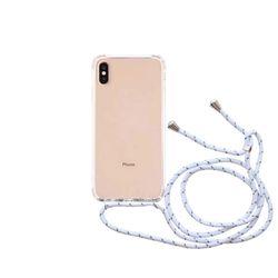 스마트폰 크로스 스트랩 케이스 화이트갤럭시 S20+