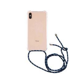 스마트폰 크로스 스트랩 케이스 블루패턴갤럭시 S20