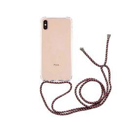 스마트폰 크로스 스트랩 케이스 레드패턴갤럭시 S20
