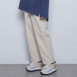 W420 warm cotton pants ivory