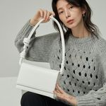 brick rope bag  white