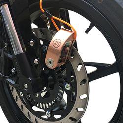오토바이 자전거 알람 디스크락 도난방지 경보 자물쇠
