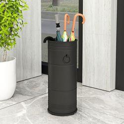 노르딕 우산꽂이 블랙 철제 우산통 우산함 업소용