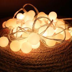LED 앵두전구 무드등(감성캠핑)