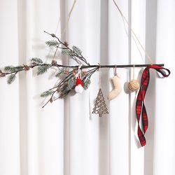 눈사람 크리스마스 가랜드 벽장식