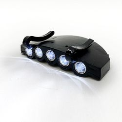헤드클립렌턴 1 1 LED 경량 후레쉬 캠핑 낚시 캡라이트