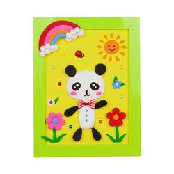 [adico]DIY 클레이액자 산책하는 팬더