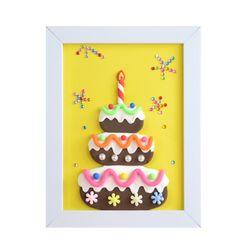 [adico]DIY 클레이액자 케이크