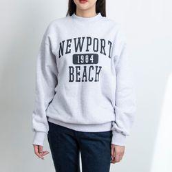 P9466 기모 레터링 맨투맨 티셔츠