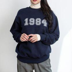 P9465 기모 패치워크 맨투맨티