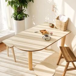 포홈 리아 반달타원 테이블