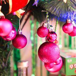 크리스마스 장식볼 오너먼트 6cm 16입 (푸치샤)